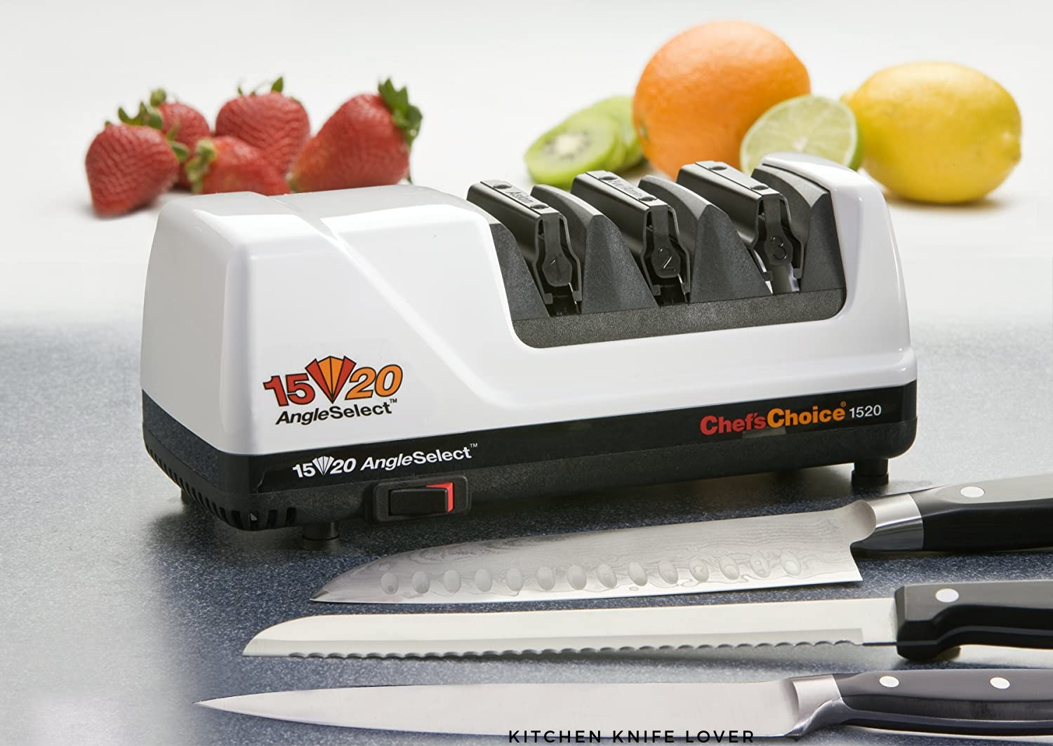 Chef's Choice 1520 Review: Best Electric Knife Sharpener