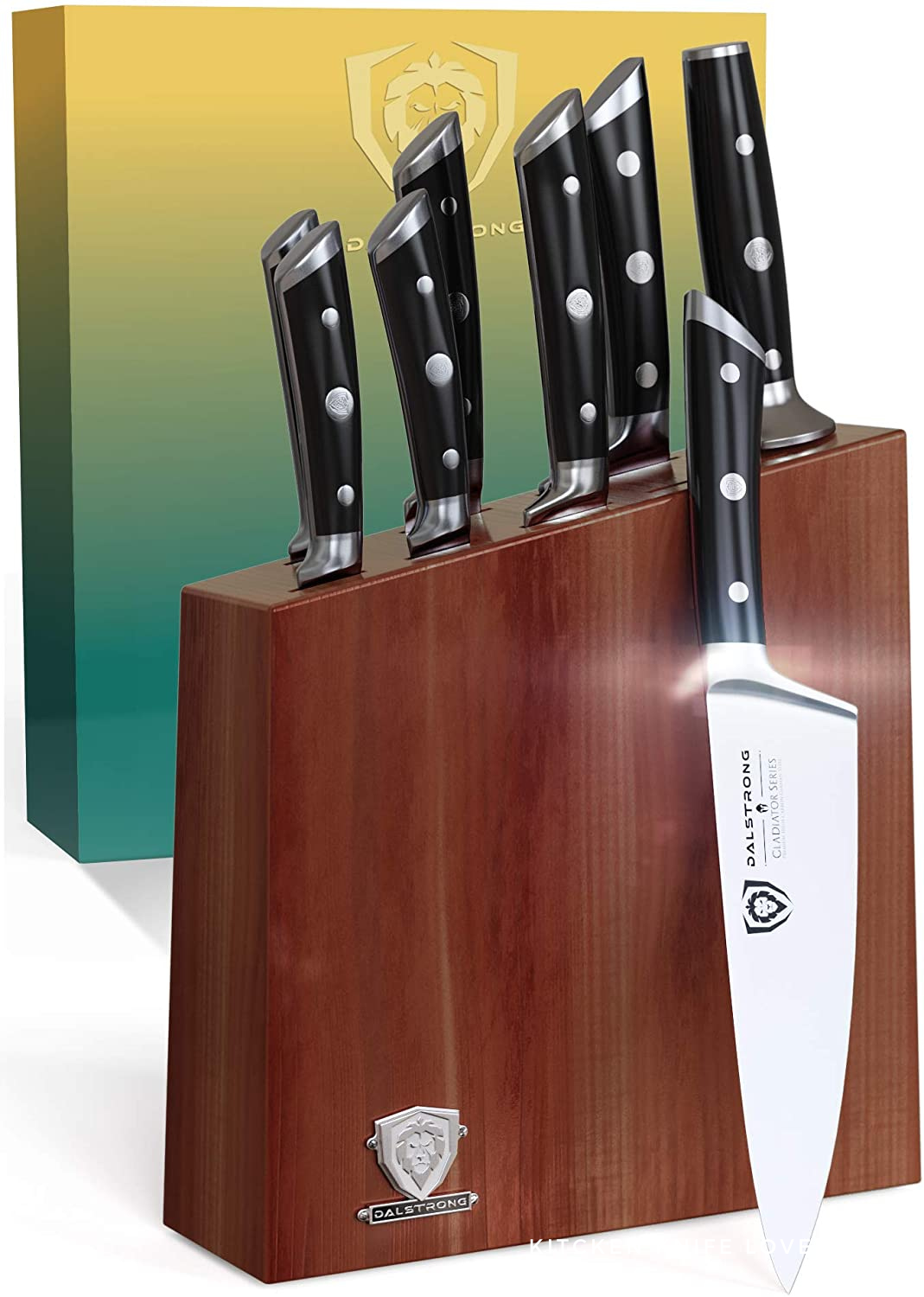 Dalstrong gladiator Review 8-Piece Knife Block Set